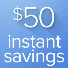 Kegco $50 Instant Savings