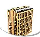 Allavino Commercial Retail Wood Wine Racks