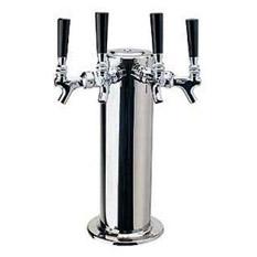 Four Faucet Kegerators Tower