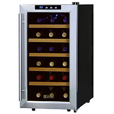 6-18 Bottle Compact Wine Coolers