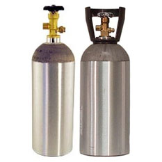 Co2 and Nitrogen Air Tanks
