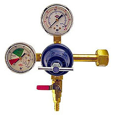 Primary Double Gauge Kegerator Beer Regulators