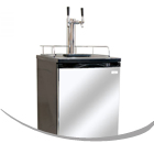 Beverage-Air Dual Faucet Two Product Kegerators