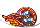 Harley-Davidson Home Bar Wall Art