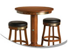 Harley-Davidson Pub Table and Stool Combo