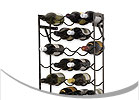 True Fabrications Designer Metal Wine Racks