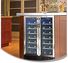 Vinotemp 24 Inch Wide Built-In Wine Storage Units