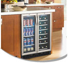 Sunpentown Dual Zone Wine Refrigerators