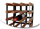 Oenophilia Wood and Metal Wine Racks