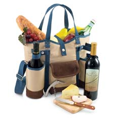 Wine Carriers & Picnic Baskets