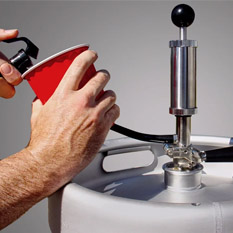 How to Tap a Keg with a Keg Pump