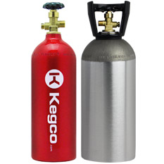 Kegco Co2 and Nitrogen Air Tanks