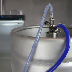 How to Tap a Keg in a Kegerator